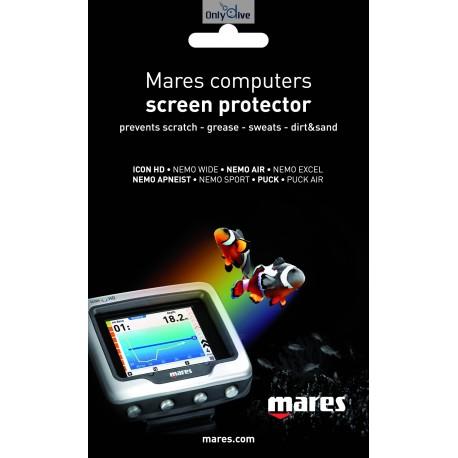Mares Tauchcomputer Displayschutz Folie
