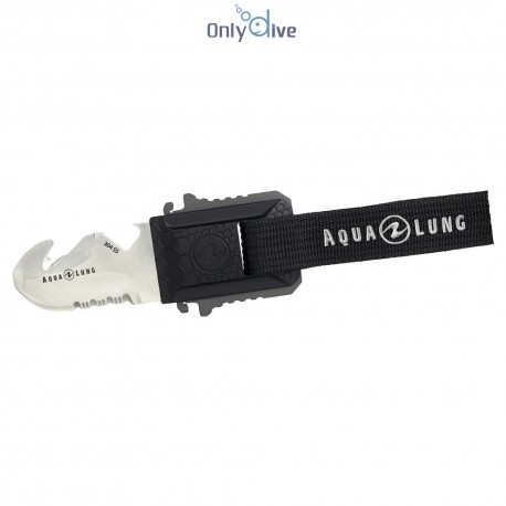 Aqualung Couteau Micro Squeeze blund tip blade