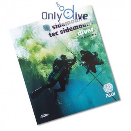 PADI Manual Sidemount auf Englisch
