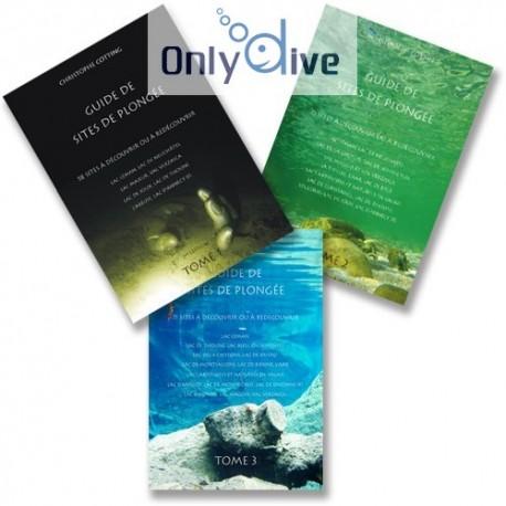 Guides sites de plongée - Tome 1, 2 et 3