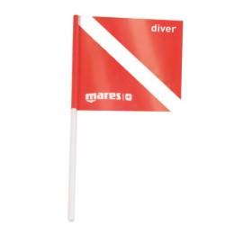Mares Tauchflagge für Bojen