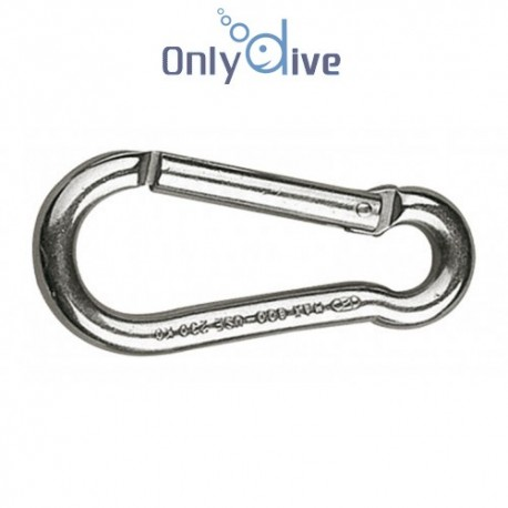 Best Divers Inox Karabiner 80 mm