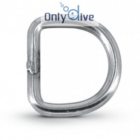 Best Divers D-Ring gerade 25 mm