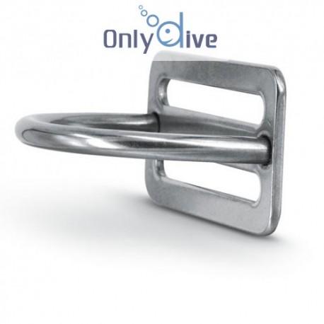 Best Divers Arrêt de plombs avec D-Ring 90°