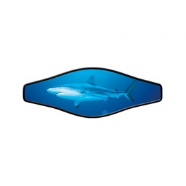 Neoprene Maskenband - Live Shark