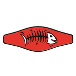 Neoprene Maskenband - Bone Fish