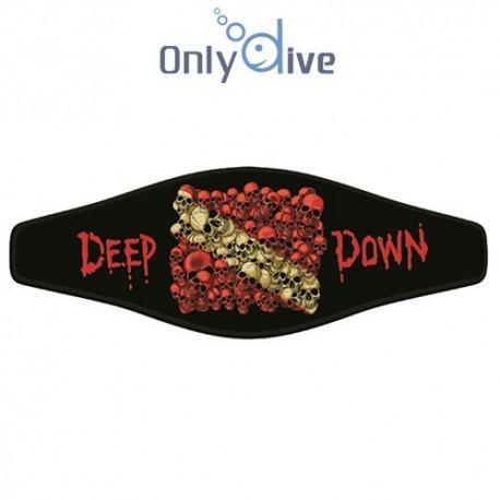 Neoprene Maskenband - Deep down