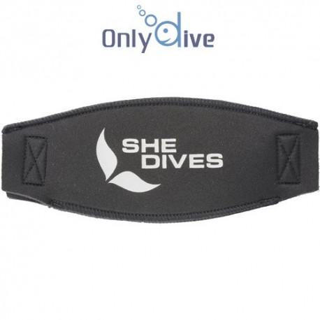 Mares neopren Maskenband She Dives