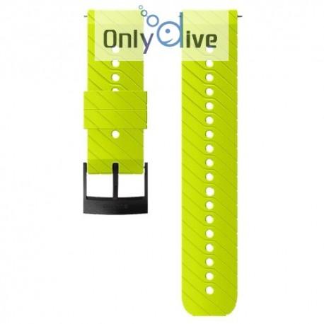 Suunto D5 - bracelet silicone lime