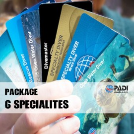 PADI Package 6 Specialties
