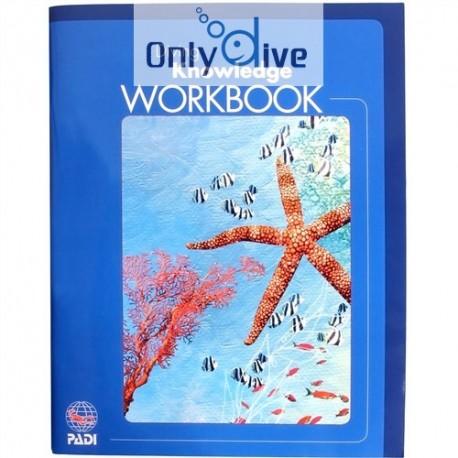 PADI Manuel Diving Knowledge Workbook