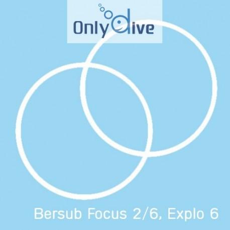 Bersub Focus 2/6 und Explo 6 Lampen Teflondichtungen