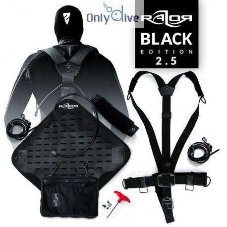 Razor Système complet Sidemount 2.5 – Black Edition
