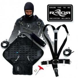 Razor System Komplett Sidemount 2.5 – Black Edition