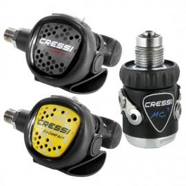 Cressi Détendeur MC9 Compact et octopus Compact