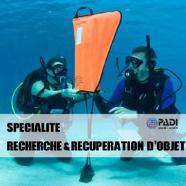 PADI Recherche & Récupération d'objet