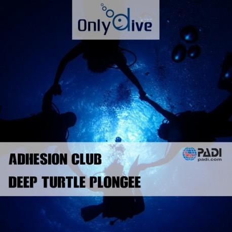 Adhésion Club Deep Turtle Plongée