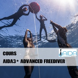 AIDA 3* Advanced Freediver