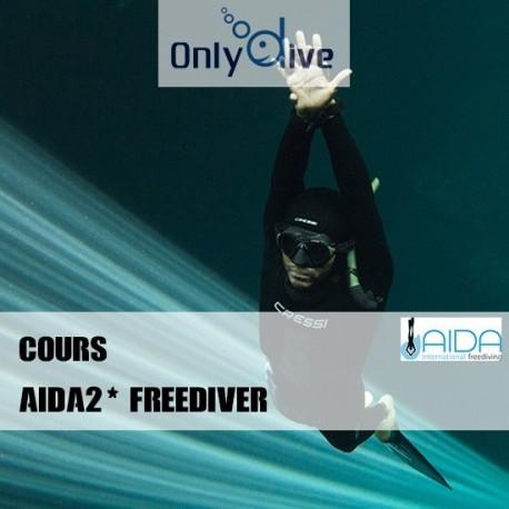 AIDA 2* Freediver