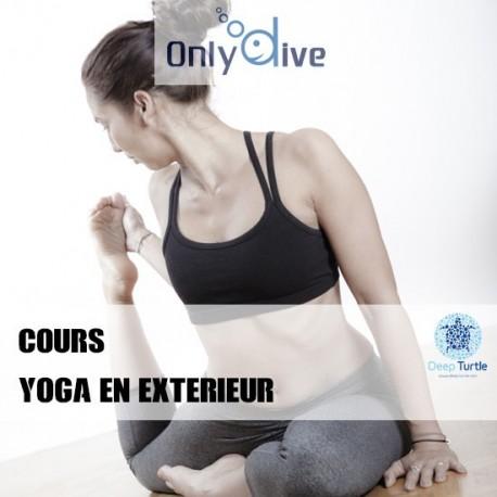 Cours Yoga en extérieur
