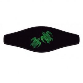 Neoprene Maskenband - Turtle