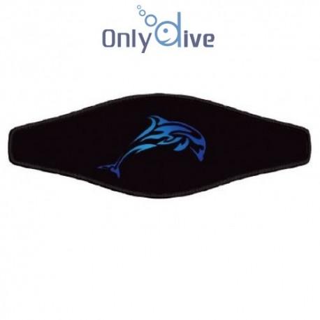 Neoprene Maskenband - Dolphin