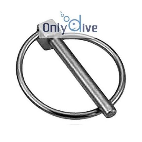 ECKLA Klappsplint zur Radsicherung für Achse 20 mm