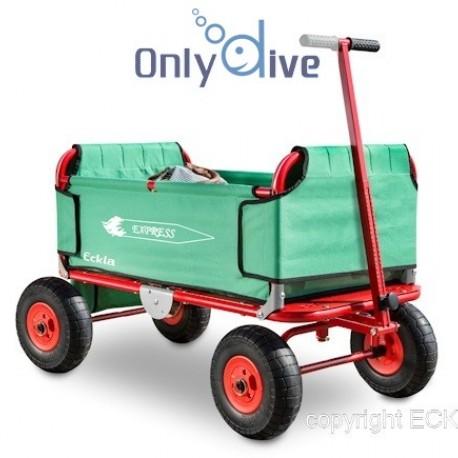 Eckla Falt-Bollerwagen mit Pannensicheren Rädern