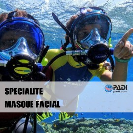 PADI Masque Facial