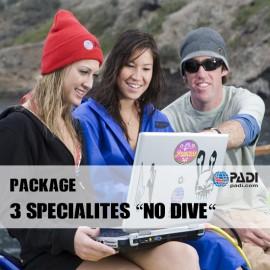PADI Package 3 Spécialités