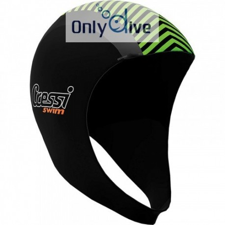 Bonnet de natation Cressi Swimm Hood 2mm