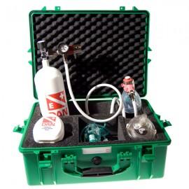 DAN Malette à oxygène avec bouteille 2.5 litres