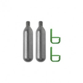 Cartouche de rechange CO2 16 g pour bouée de sauvetage (2 pièces)