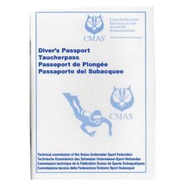Diver's Passport Taucherpass CMAS