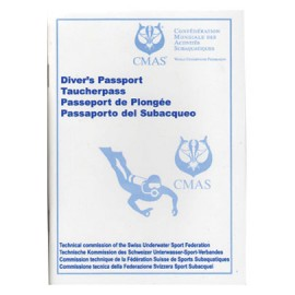 Passeport de plongée CMAS