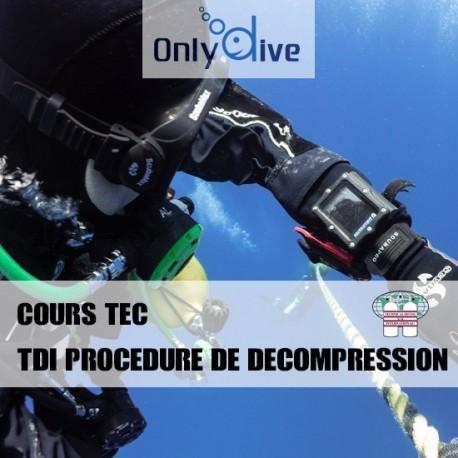 TDI Procédure de décompression