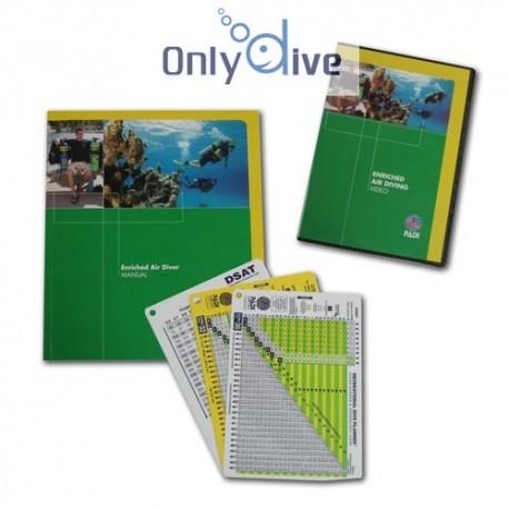 PADI Crewpak Enriched Air Diver & DVD